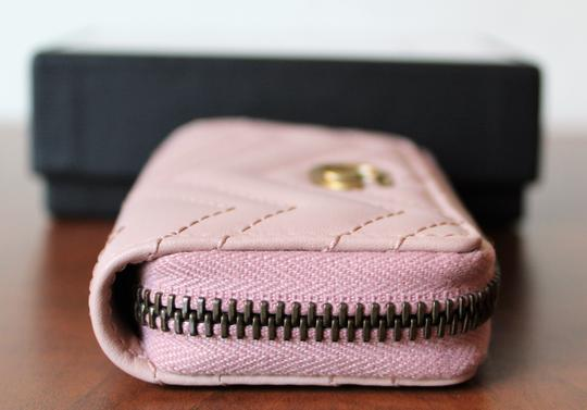 Gucci GUCCI Marmont Leather Key Case pink Image 2