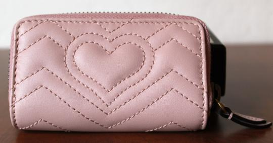 Gucci GUCCI Marmont Leather Key Case pink Image 5