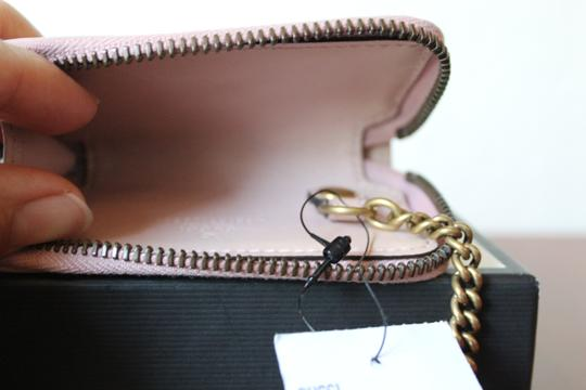 Gucci GUCCI Marmont Leather Key Case pink Image 7