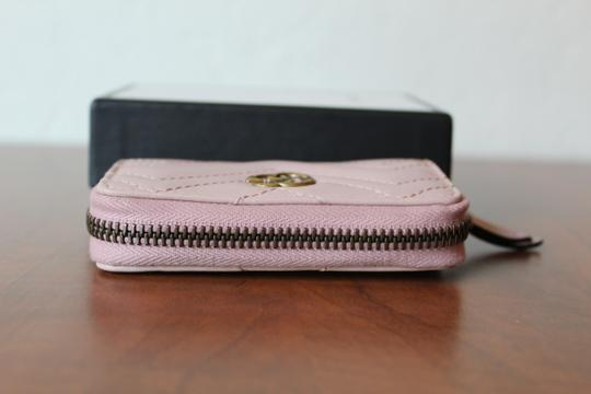 Gucci GUCCI Marmont Leather Key Case pink Image 9