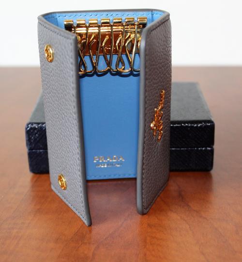 Prada NEW Prada Saffiano leather wallet with bow Image 1