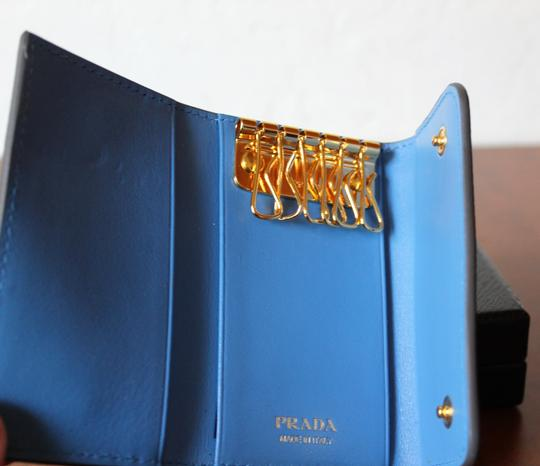 Prada NEW Prada Saffiano leather wallet with bow Image 3