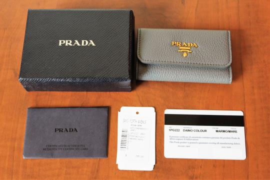 Prada NEW Prada Saffiano leather wallet with bow Image 7