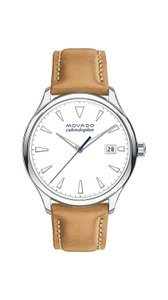 Movado Movado Women's Heritage Quartz White Dial Watch 3650065