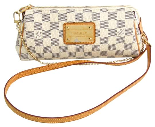 Preload https://img-static.tradesy.com/item/25922334/louis-vuitton-eva-n55214-women-s-azur-azur-damier-canvas-shoulder-bag-0-1-540-540.jpg