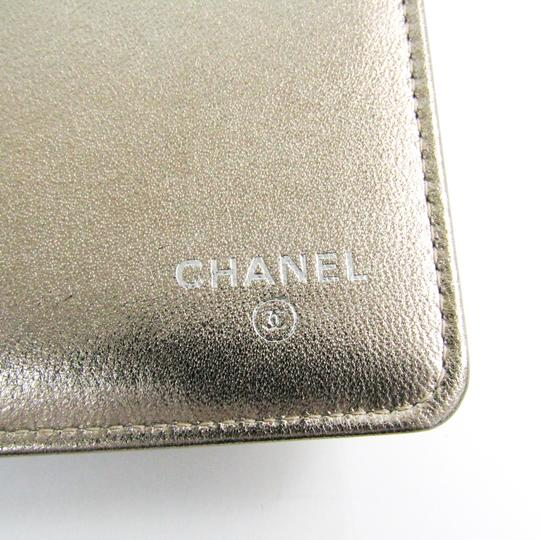 Chanel Chanel New Travel Line Travel Case Women's Coated Canvas Bill Wallet (bi-fold) Gold Image 7