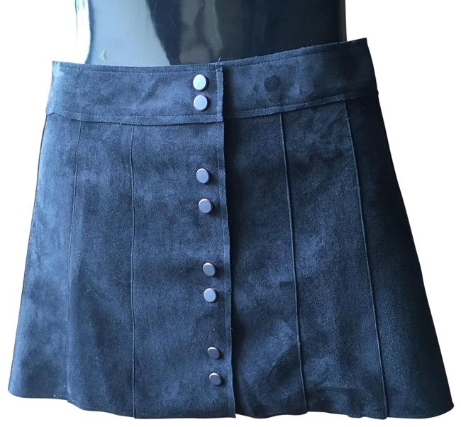 Item - Black Faux Suede Skirt Size 2 (XS, 26)
