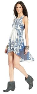 Blue and White Maxi Dress by Free People