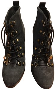 Tory Burch charcoal gray Boots