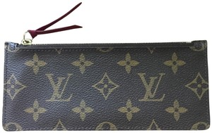 Louis Vuitton Monogram zipper insert