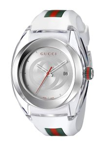 Gucci Gucci White Sync Xxl Unisex 46mm Ya137102 Watch