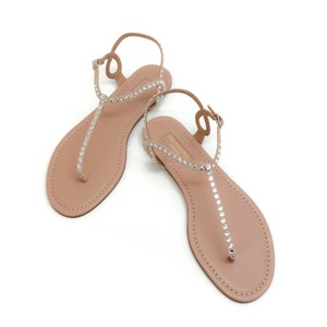Aquazzura Powder Pink Sandals