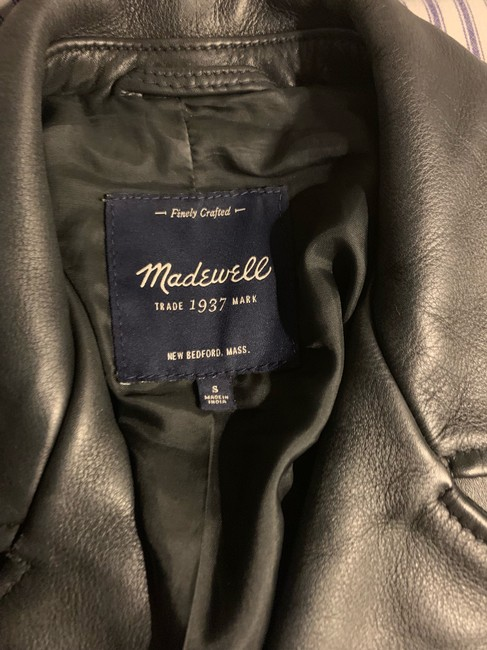 Madewell Leather Jacket Image 1