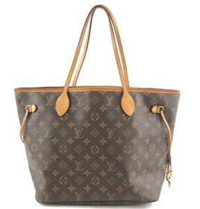 Louis Vuitton Neverfull Mm Monogram Tote Lv Shoulder Bag