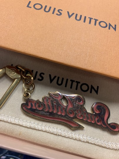 Louis Vuitton LOUIS VUITTON LV Legend Key Holder Golden Metal Gold/Rose M66027 Image 2