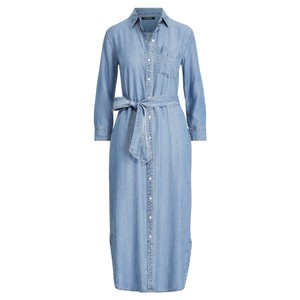 DENIM - FAIR WINDS WASH Maxi Dress by Ralph Lauren