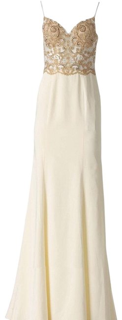Item - Off-white Jvn 66059a Long Night Out Dress Size 10 (M)