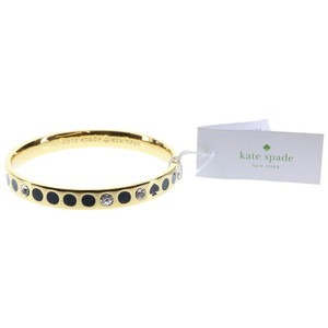 Kate Spade 'Spot the Spade' Gold Bangle Bracelet