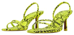 Zara fluorescent green Sandals