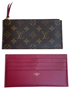 Louis Vuitton Louis Vuitton Felicie inserts monogram pink