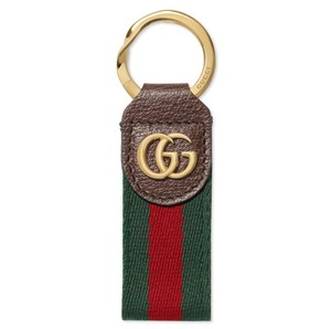 Gucci Double-G Web Key Chain Marmont Ophidia key chain