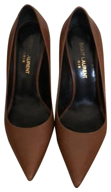 Item - Brown Ysl Pumps Size EU 36 (Approx. US 6) Regular (M, B)
