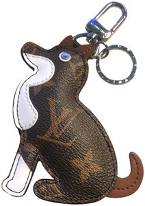 Louis Vuitton New Monogram Dog Bag Charm and Key Holder Limited Edition