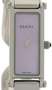 Gucci Gucci Pink Mother of Pearl Ladies Watch StainlessQuartz Horsebit E3102