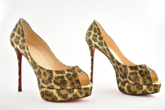 Christian Louboutin Pigalle Stiletto Classic Galeria Studded black Pumps Image 3