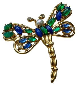 Dior Christian Dior butterfly vintage brooch pin