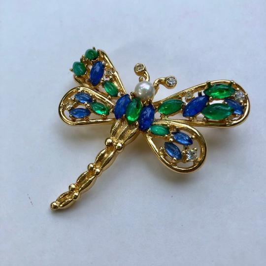 Dior Christian Dior butterfly vintage brooch pin Image 4
