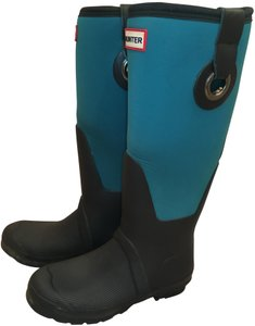 Hunter Rain Teal Green Boots