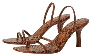Zara natural leather color Sandals
