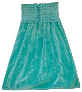 Juicy Couture short dress Aqua on Tradesy