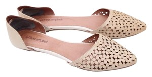 Jeffrey Campbell cream, beige Flats