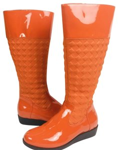 Cole Haan Orange Boots