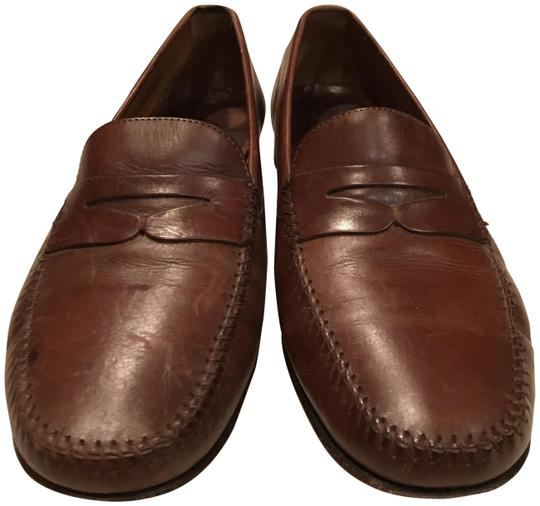 Preload https://img-static.tradesy.com/item/25926318/cole-haan-brown-american-classic-kneeland-penny-loafer-flats-size-us-95-wide-c-d-0-1-540-540.jpg