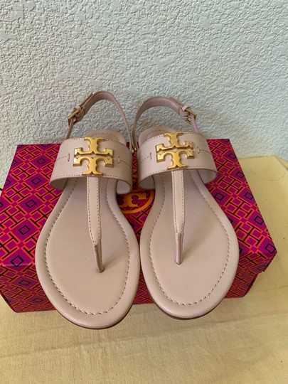 Tory Burch Pink ( Seashell Pink) Sandals Image 1