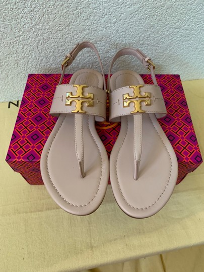 Tory Burch Pink ( Seashell Pink) Sandals Image 8