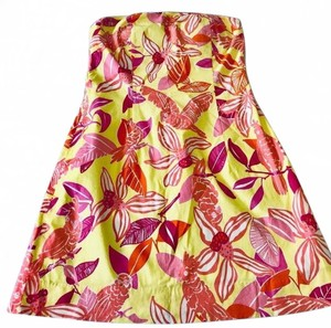 Lilly Pulitzer short dress yellow/orange/fuchsia on Tradesy