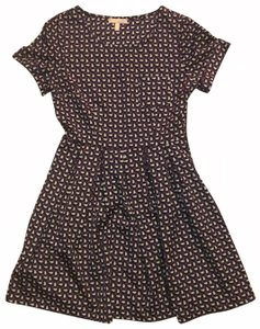 Monteau Los Angeles short dress Navy with Bunnies on Tradesy