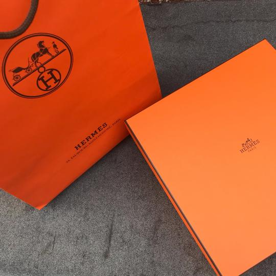 Hermès New Classic Storage Box Jewelry Perfume Wallet With Shopping Bag Image 2