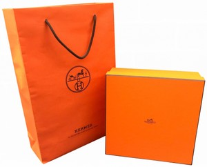 Hermès New Classic Storage Box Jewelry Perfume Wallet With Shopping Bag