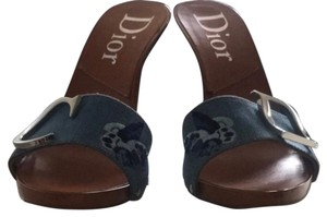 Dior Denim Mules