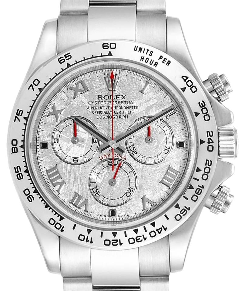 Rolex Meteorite Cosmograph Daytona White Dial Mens 116509 Watch 24% off  retail