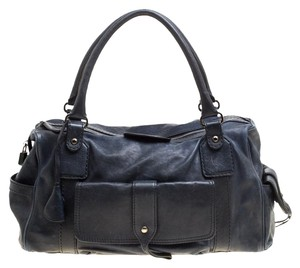 Tod's Leather Satchel in Blue