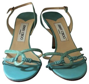 Jimmy Choo blue/turquoise Sandals
