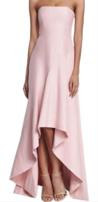 Halston Pink Gown Long Formal Dress Size 2 (XS) Halston Pink Gown Long Formal Dress Size 2 (XS) Image 1