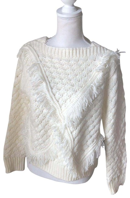 Item - Cable Knit Cream Sweater