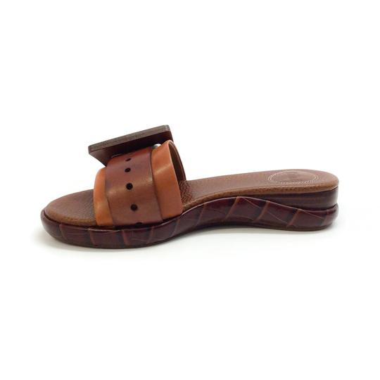 Chloé Mustang Brown Sandals Image 3
